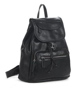 best-backpack-purse-black-leather-back-pack